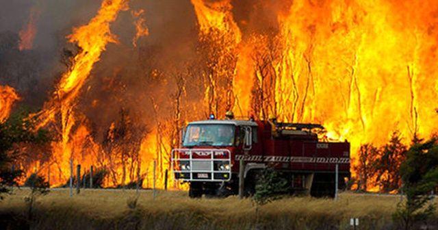 Avustralya'da orman yangını: 9 ev yıkıldı