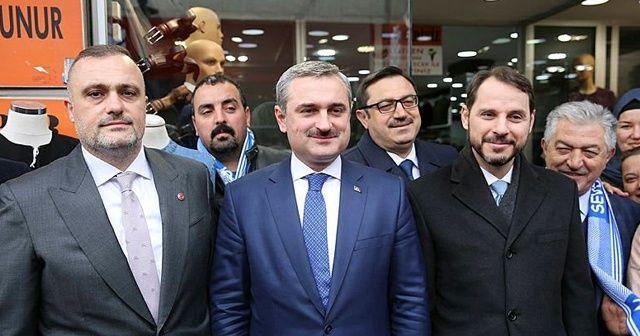 Bakan Albayrak'a İstanbul'da sevgi seli!