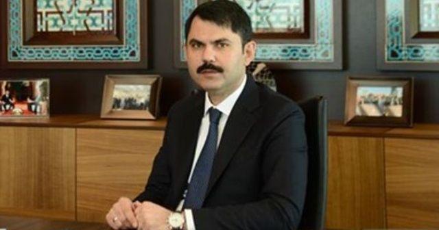 """Bakan Kurum: """"İstanbul'umuzda 23 ilçede 65 adat riskli alan ilan ettik"""""""