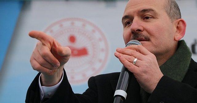 Bakan Soylu'dan CHP'nin Beyoğlu Belediye Başkan Adayı Alper Taş'a tepki