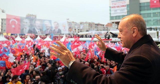 """Cumhurbaşkanı Erdoğan: """"Birileri Türkiye tökezlesin diye ellerini ovuşturuyor"""""""