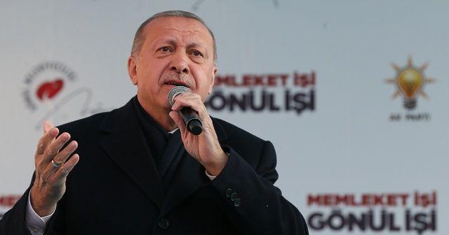 Cumhurbaşkanı Erdoğan: Döviz kuru üzerinden yeni bir takım oyunlar oynanıyor