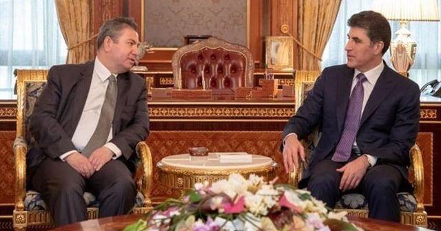 Dışişleri Bakan Yardımcısı Önal, Barzani ile görüştü