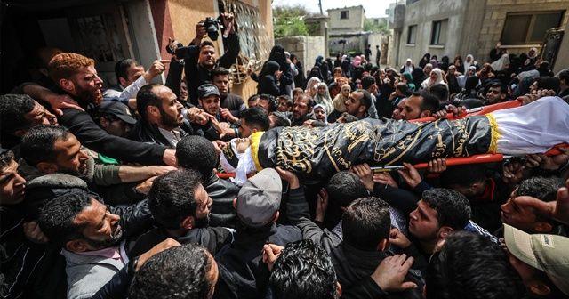 Dün İsrail askerlerinin vurduğu genç bugün hayatını kaybetti