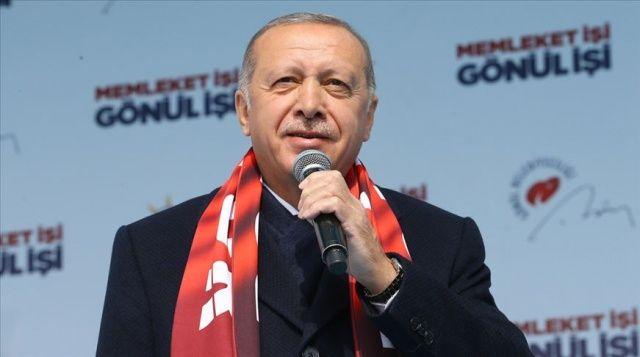 Erdoğan: Zor olan meydanda ne söylediysen seçimden sonra unutmamaktır