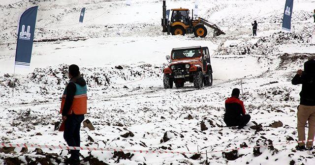 Erzurum'da Uluslararası Türkiye Off-Road yarışları nefes kesti