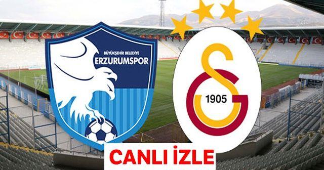 Erzurumspor Galatasaray MAÇ ÖZETİ İzle! Erzurumspor Galatasaray Maç Özet Videosu