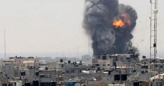 Filistinli gruplar İsrail'in güneyine 30 füze attı