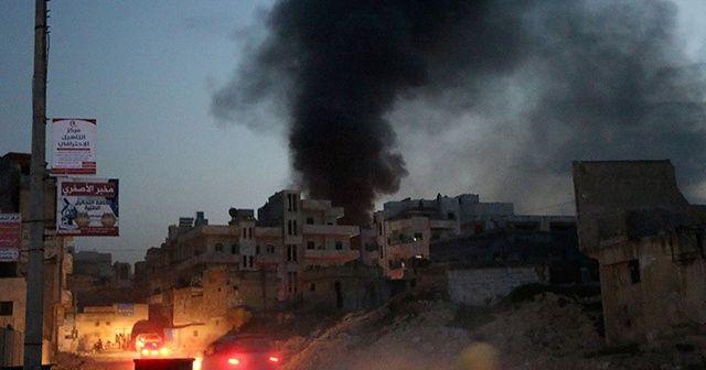 İdlib'e yoğun hava saldırısı: 3 ölü, 15 yaralı