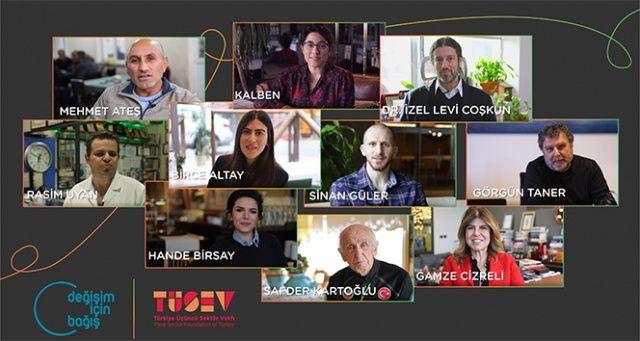 İlham veren bağışçılar, değişim oluşturan öykülerini anlattı