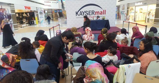 KAYSERmall Outlet AVM, Kadınlar Günü'nde özel bir etkinliğe ev sahipliği yaptı