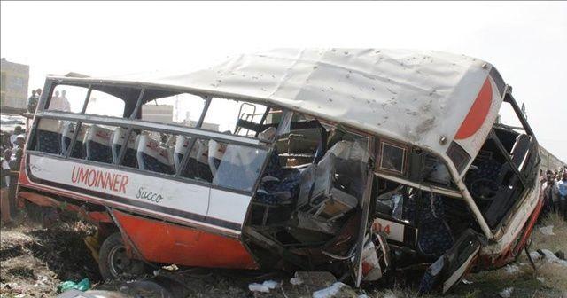 Kenya'da tır minibüsle çarpıştı: 11 ölü