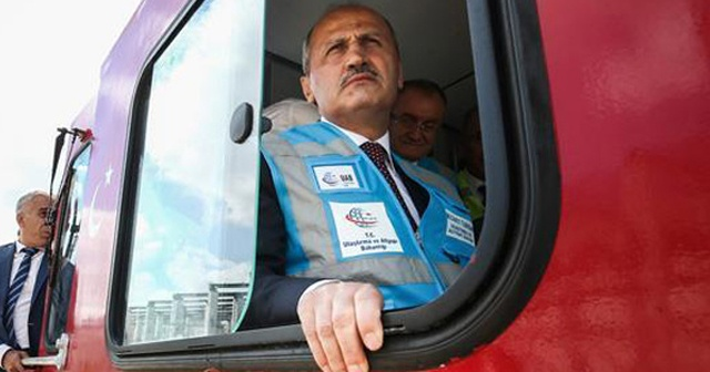Marmaray Gebze-Halkalı Hattı'nda 15 dakikada bir sefer