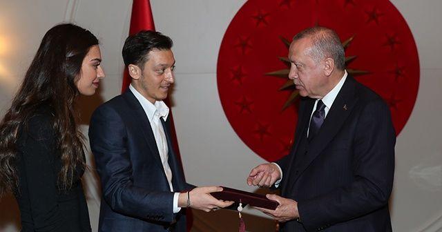 Mesut Özil, Cumhurbaşkanı Erdoğan'ı nikahına davet etti