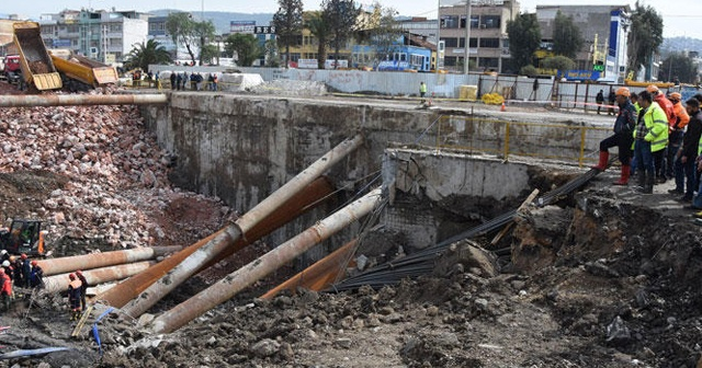 Metro otopark inşaatındaki göçükte bir kişinin cansız bedenine ulaşıldı