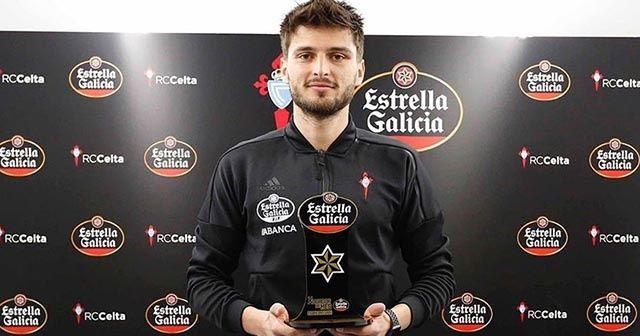 Milli futbolcu Okay Yokuşlu Celta Vigo'da ayın futbolcusu seçildi