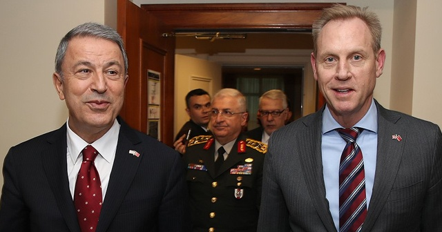 Milli Savunma Bakanı Akar, ABD Savunma Bakanı ile görüştü