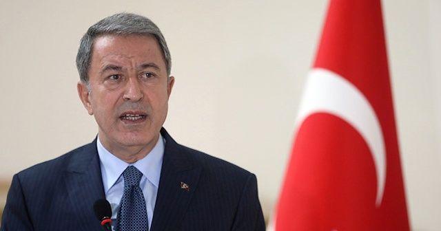 Milli Savunma Bakanı Hulusi Akar'dan Yunanistan mesajı
