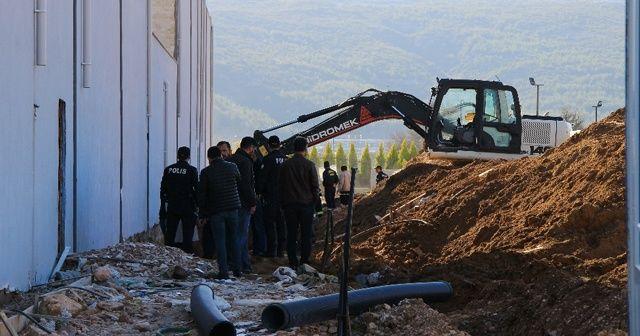 Muğla'da göçük altında kalan işçi öldü