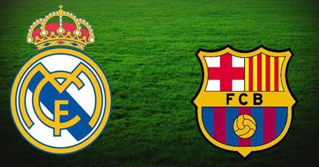 Real Madrid Barcelona canlı izle! Real Madrid Barcelona maçını şifresiz veren yabancı kanallar! Beinsports Az tv İdman Tv CBC Sport canlı izle