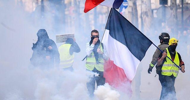 Sarı Yelekliler'den Fransa'ya 200 milyon euro zarar