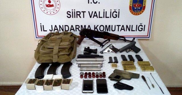 Siirt'te ruhsatsız silah ve mühimmat satan şahıs gözaltına alındı