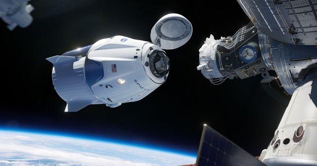 SpaceX uzay aracı uluslararası uzay istasyonuna ulaştı