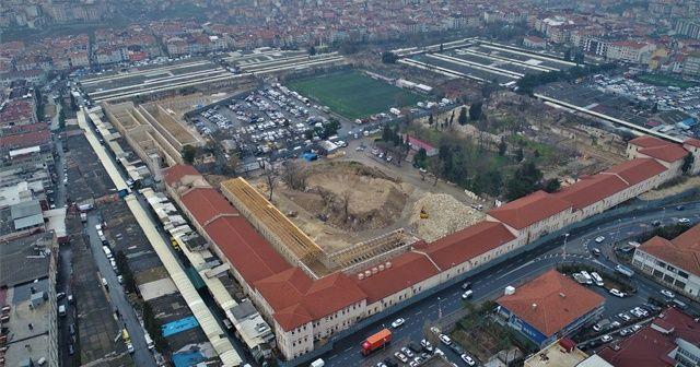 Türkiye'nin en büyük kütüphanesi Rami Kışlası  olacak