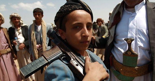 Yemen'de 5 bin 113 çocuk silahaltına alındı
