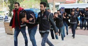 Alanya'da uyuşturucu operasyonu: 15 gözaltı