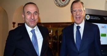 Bakan Çavuşoğlu, Rus mevkidaşı Lavrov ile Antalya'da bir araya geldi
