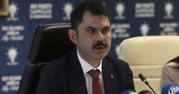 """Bakan Kurum: """"Konutlara tüm Türkiye'de 550 binin üzerine başvuru gerçekleşti"""""""