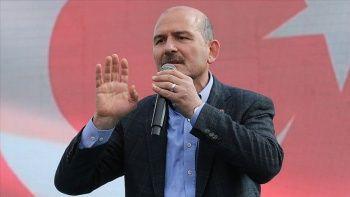 Bakan Soylu: Dün Türkiye'ye patlayıcı sokmaya çalışanları engelledik