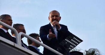 Bakan Soylu: Karadeniz evladı PKK'ya yamanmaz, PKK'nın celladı olur