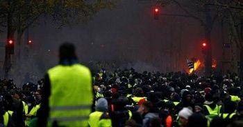 Belçika'da 70 Sarı Yelekli'ye gözaltı