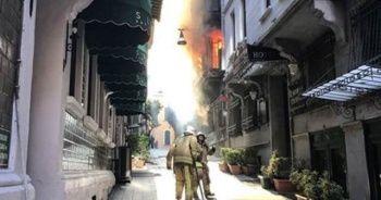 Beyoğlu'ndaki yangınla ilgili bir kişi Hatay'da gözaltına alındı!