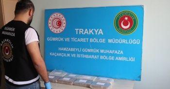 Bulgaristan sınırında yakalandı: Piyasa değeri 2 milyon 500 bin TL