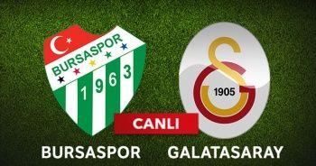 Bursaspor - Galatasaray maçı geniş özeti golleri izle! Bursaspor - Galatasaray maçı kaç kaç bitti?