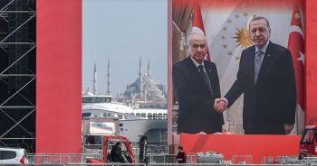 Cumhur İttifakı'nın 'Büyük İstanbul Mitingi'