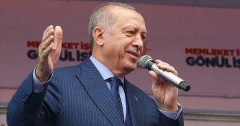 Cumhurbaşkanı Erdoğan: Bayrak düşmanları hala aynı bataklıkta çırpınıyor
