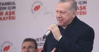 Cumhurbaşkanı Erdoğan: Binali Bey'in tek borcu İstanbul'adır