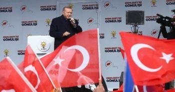 Cumhurbaşkanı Erdoğan: Biz, bu toprakları böldürtmeyeceğiz