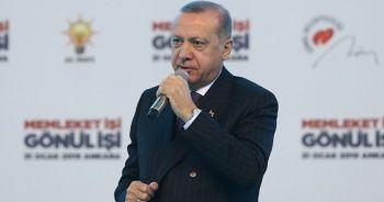 Cumhurbaşkanı Erdoğan'dan muhalefete eleştiri: Yunan gazetelerine manşet oluyorlar