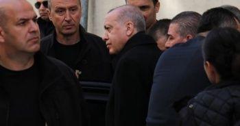 Cumhurbaşkanı Erdoğan, Hafız Abdullah Nazırlı'yı ziyaret etti
