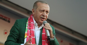 Cumhurbaşkanı Erdoğan: İzmir'de 120 bin kişiyle mitingimizi yaptık