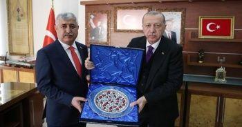 Erdoğan'dan Belediye Başkanlığına ziyaret