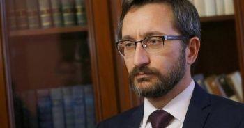 """Fahrettin Altun: """"Ne ölüm tehdidi ne başka bir şey Cumhurbaşkanımızı yolundan çevirir"""""""