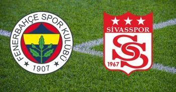 Fenerbahçe Sivasspor maçı geniş özeti golleri izle! Fenerbahçe Sivasspor maçı kaç kaç bitti?