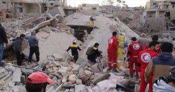 İdlib'e hava saldırısında ölü sayısı 15'e yükseldi