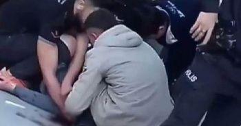 İzmir'de silahlı genç dehşet saçtı!
